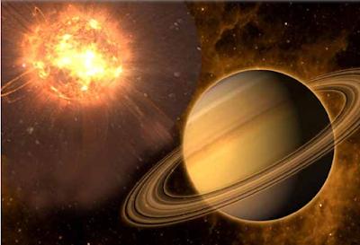 Sun And Saturn