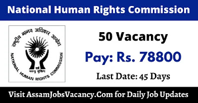 National Human Rights Commission 2021 Recruitment