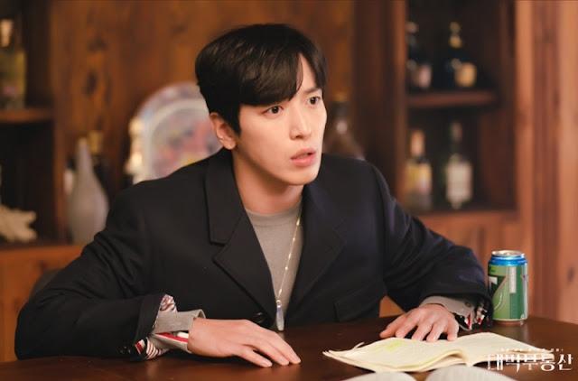Jung Yong Hwa dalam drama Sell Your Haunted House/ Daebak Real Estate