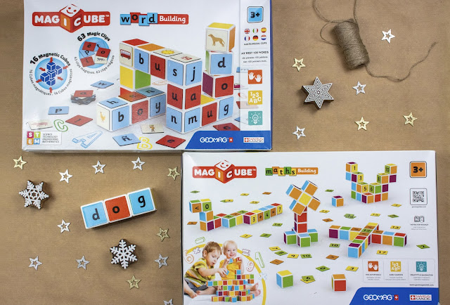 Magicube by Geomag boxes for Word Building and Maths building