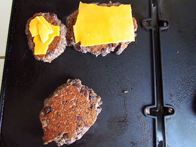 Black Bean Burgers with Cheese