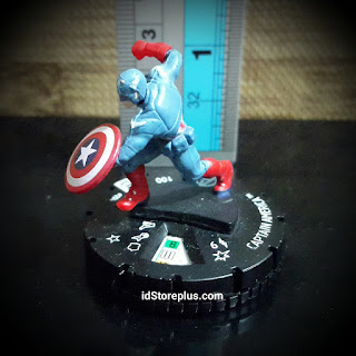 Miniature Captain America 204 Avengers Movie Gravity Feed Marvel Heroclix