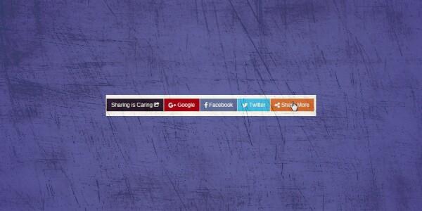 Hướng dẫn chèn widget chia sẻ bài viết lên MXH cực đẹp cho blogspot