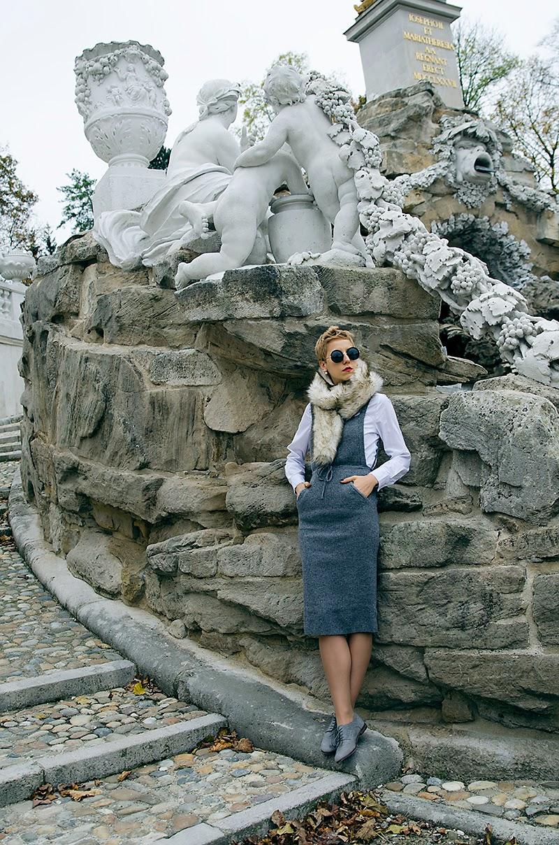 faux fur scarf asos topshop zara beeswonderland