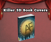 killer 3d cover books