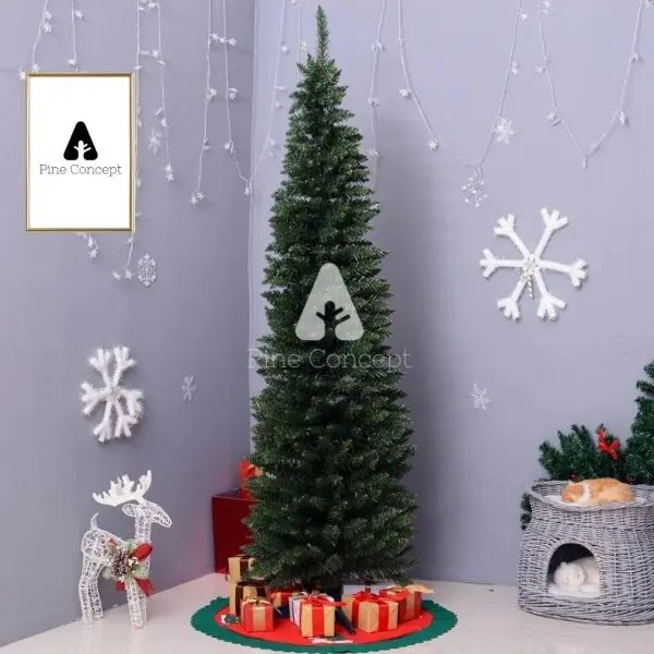 Pine Concept Review, Pencil Frasier Fir Christmas Tree, Christmas ornaments, Christmas decoration, Christmas, Lifestyle