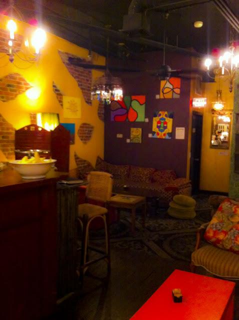 Caffeine Coffee House Interior