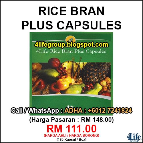 foto 4Life Rice Bran Plus Capsules