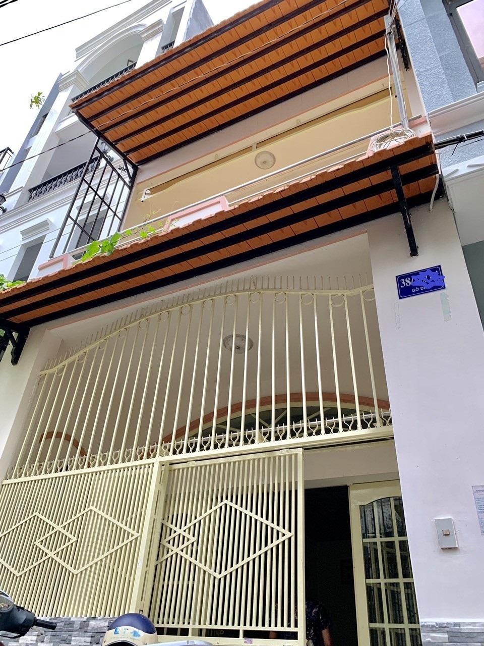 Bán nhà Hẻm xe hơi 38 Gò Dầu phường Tân Quý quận Tân Phú. DT 4x12,12m