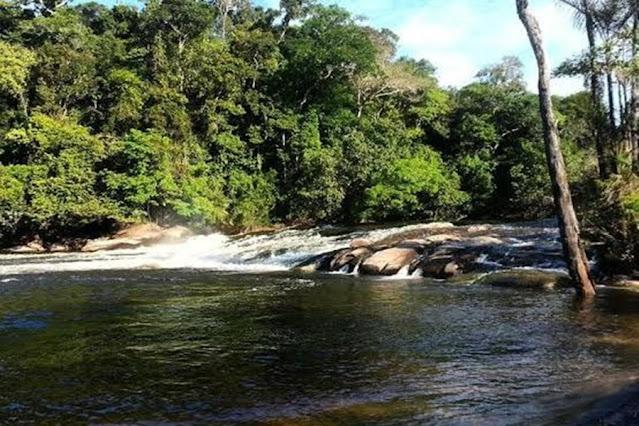 Bombeiros localizam corpo de homem que morreu afogado no rio Preto