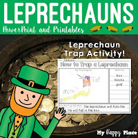 Leprechauns: PowerPoint and Printables is a TPT resource from My Happy Place