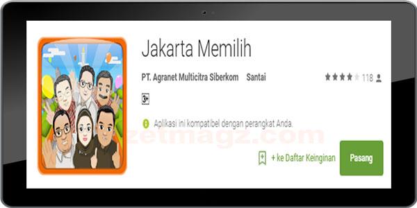 """Detik.com luncurkan game android """"Jakarta Memilih"""""""