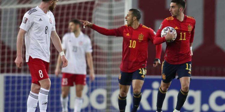 اسبانيا وجوروجيا