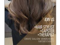 Lowongan Kerja Hair Stylist, Kapster, Therapist di Enve Salon - Semarang