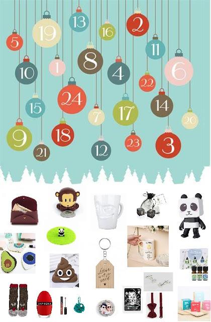 62 idées pour remplir un calendrier de l'avent pour adultes !