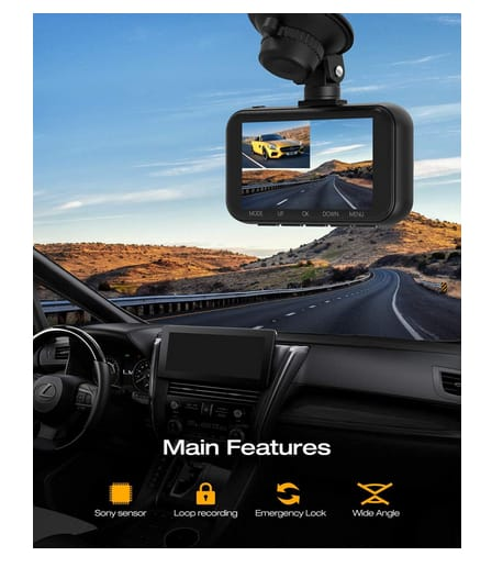 TOGUARD C200 4K Dual Dash Cam for Cars