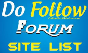 High PR Dofollow Forum Sites List
