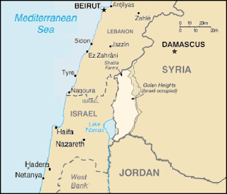 Map of Goan Heights Israel