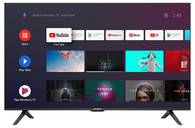 """43"""" XTREME X-Series Android TV"""