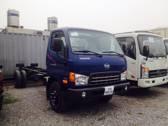 Xe Hyundai HD800 8 tấn