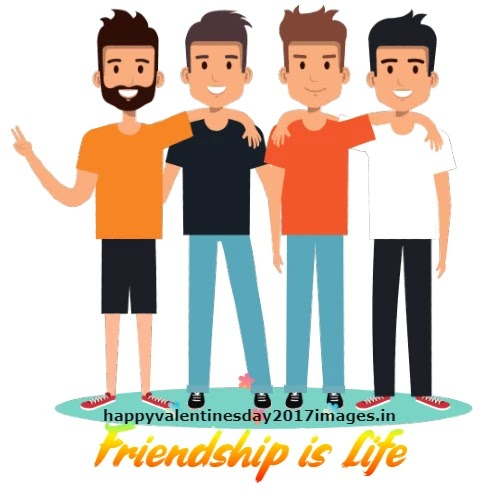 Friendship Images in Cartoon
