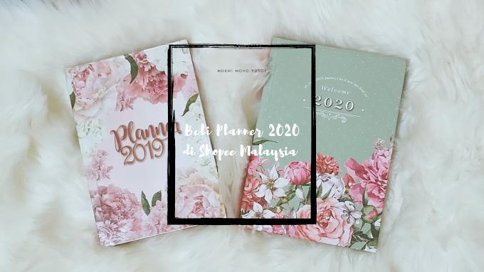 Beli Planner 2020 di Shopee Malaysia