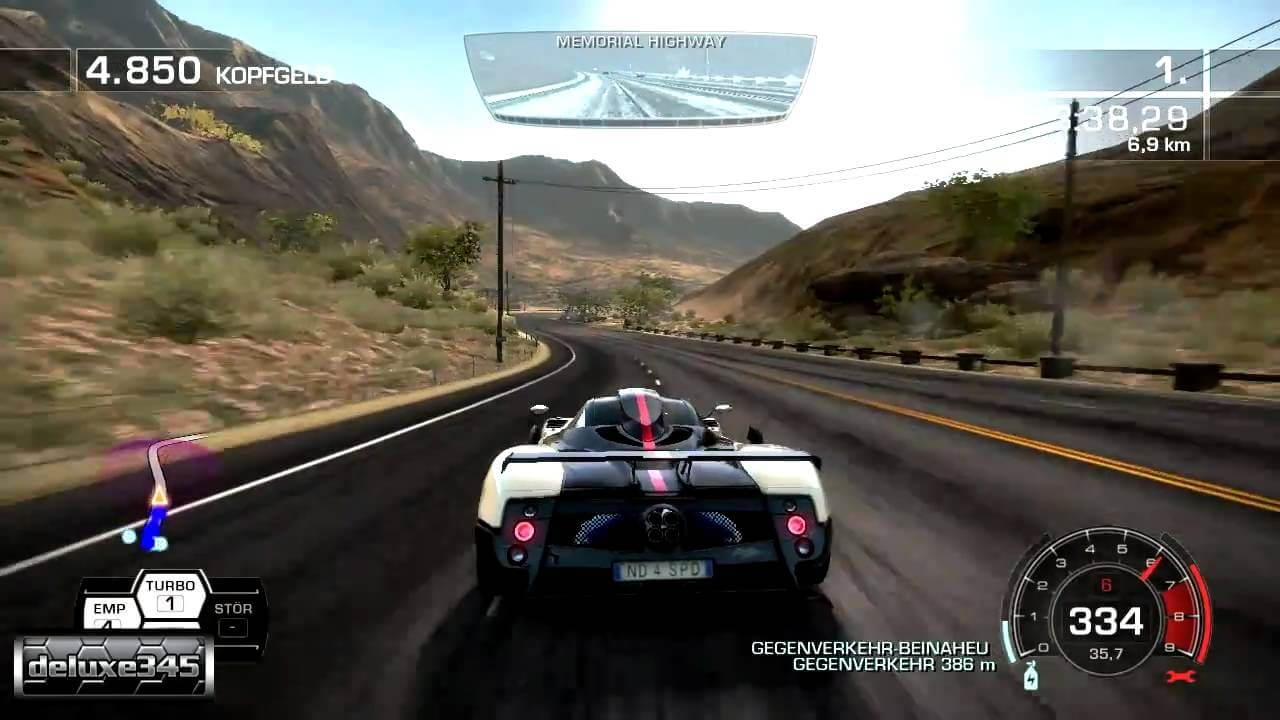 5. Need For Speed: Hot Pursuits