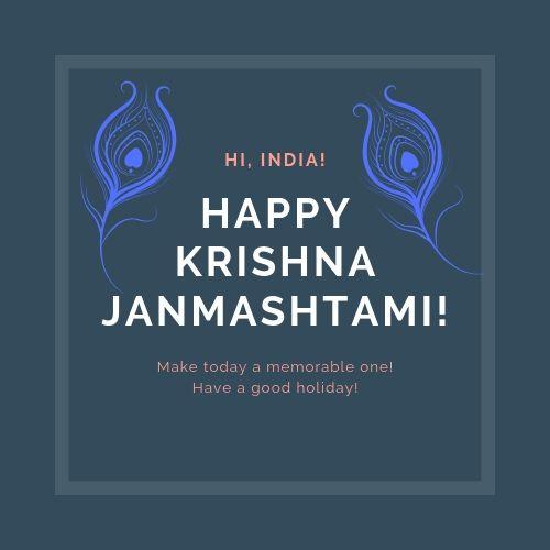 Happy Janmashtami 2021