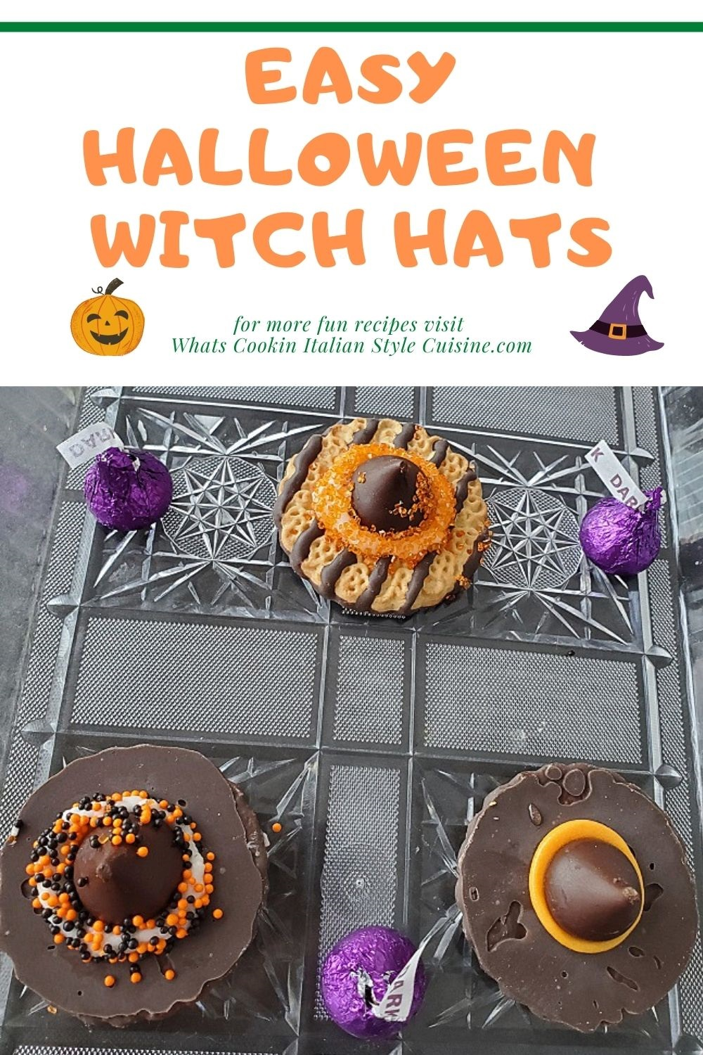 pin for later how to make halloween witch hats