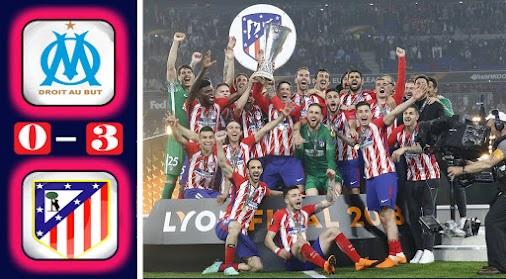 Marseille 0-3 Atlético Madrid: All Goals & Highlights Final Europa League #marseille  #atleti  #uel...