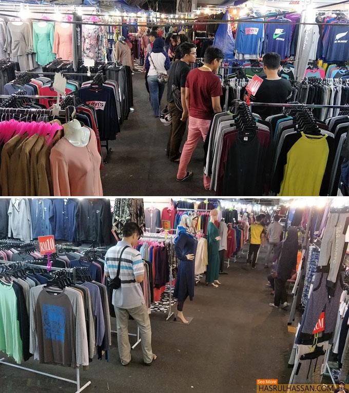 Cari Barang Murah di Bazaar Malam, Lembah Kuala Kangsar