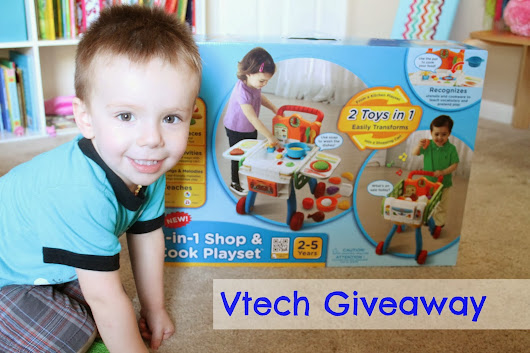 2-in-1 Shop & Cook Playset from Vtech Giveaway