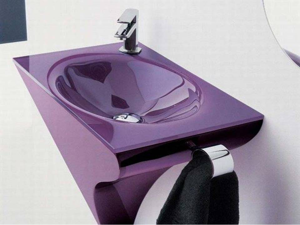Bathroom Shower Panel Black Purple Bathroom Sink