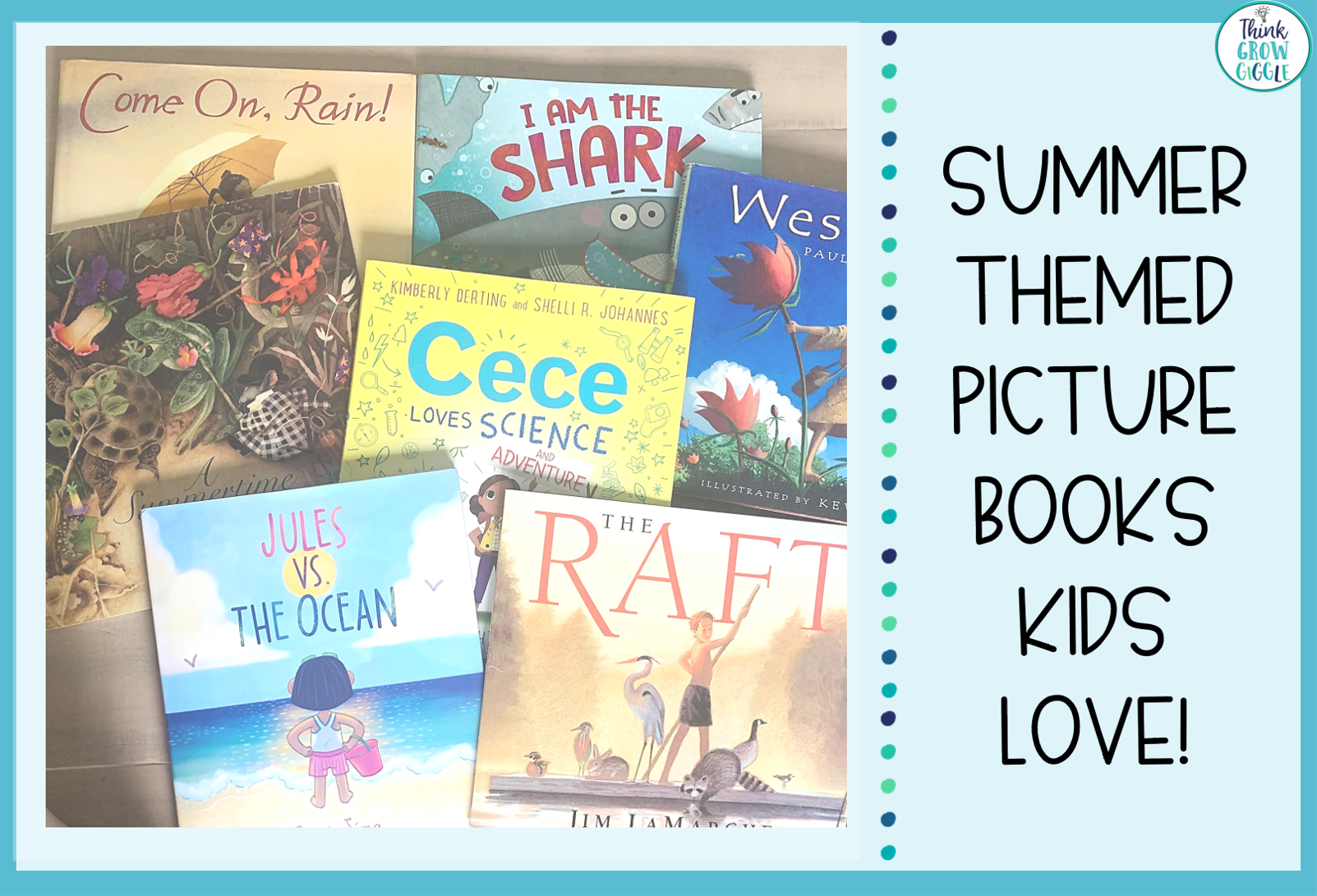 Summer Picture Books for Upper Elementary