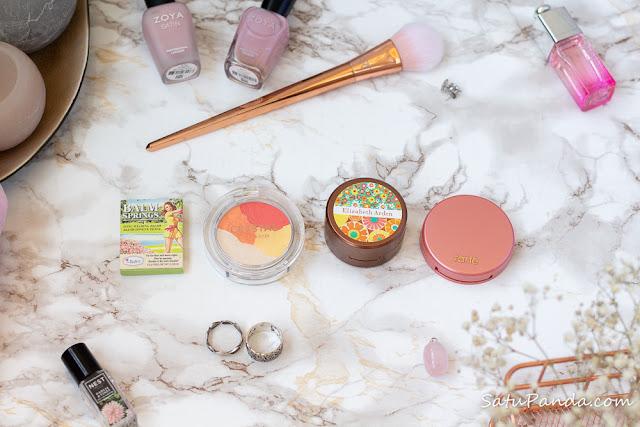 Персиковые и коралловые румяна