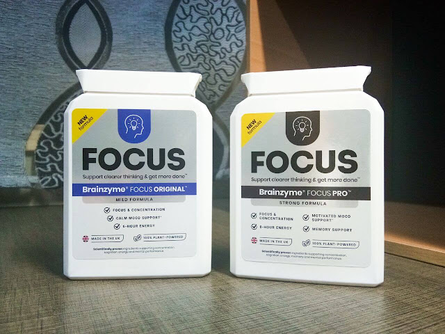 Brainzyme Focus Original & Brainzyme Focus Pro