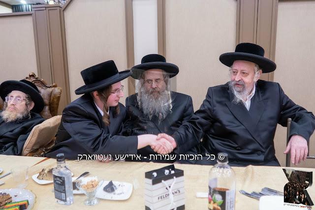 שמחת התנאים בבית סאסוב - סאטמאר 15- אלעסק - ספינקא ירושלים