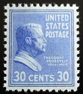 1938 30c Theodore Roosevelt Jr