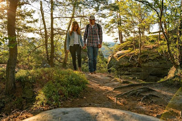 Malerweg Etappe 7 | Von Kurort Gohrisch bis Weißig | Wandern Sächsische Schweiz | Pfaffenstein – Festung Königstein 13