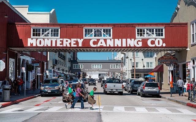 Conhecendo Monterey por cima