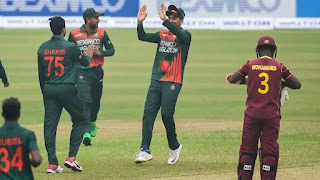 Bangladesh vs West Indies 1st ODI 2021 Highlights