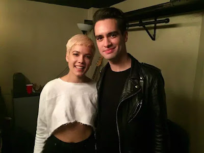Brendon Urie Suave Slicked Back Haircut