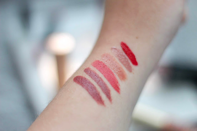 WINTER LIP PRODUCTS YOU WILL LOVE, swatches