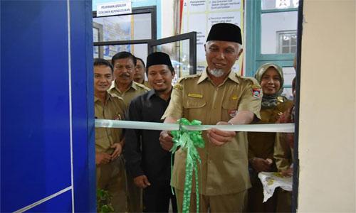 Disdukcapil Kota Padang,Berikan Rasa Kepuasan Masyarakat  Dengan Layanan Satu Pintu