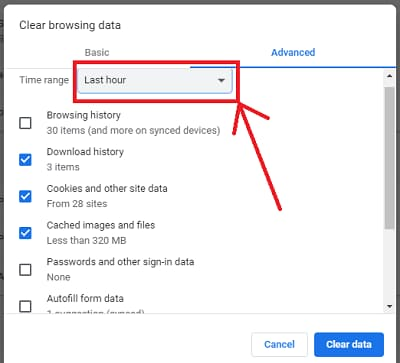 How to clean browser history in chrome browser