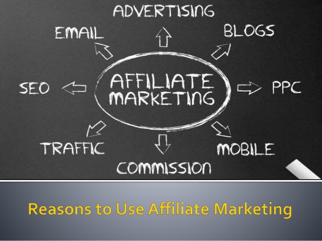 Reasons Why Use Affiliate Marketing