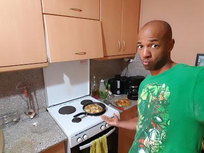 I'm like an omelette-making machine