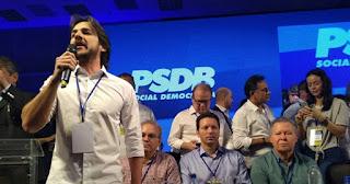 Pedro defende que PSDB fique fora da polarização política e concentre atuação na defesa dos interesses da população