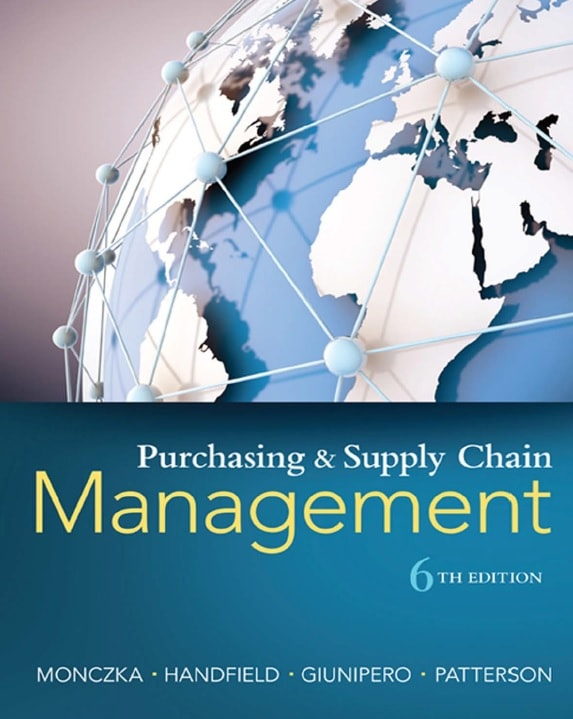 Purchasing and Supply Chain Management, Sixth Edition