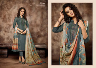 Sargam Print Shireen Pashmina Winter Collection